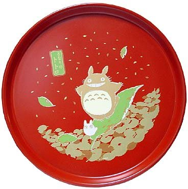 Ghibli - Totoro - Round Tray - Japanese Style - out of production - RARE (new)