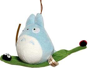 1 left - Mascot - Strap - Grass Boat - Chu Totoro & Kurosuke - out of production (new)