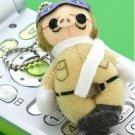 Ghibli - Porco Rosso - Chain Strap Holder - Mini Plush Doll (new)