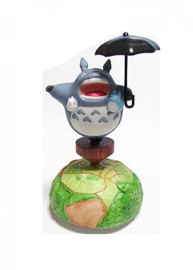 Music Box - Rotary - Porcelain - gaoo - Totoro & Chu & Sho - Ghibli - sekiguchi (new)