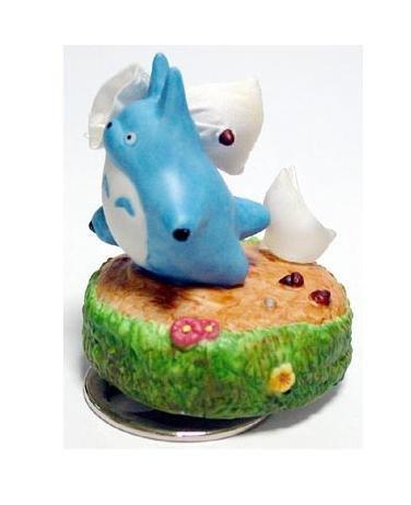Music Box - Rotary - Porcelain - Chu Totoro & Sho Totoro - Ghibli - sekiguchi (new)