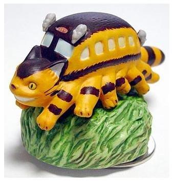 Music Box - Rotary - Porcelain - Nekobus - Totoro - Ghibli - sekiguchi (new)