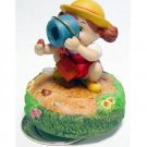 1 left - Music Box Orgel - Porcelain - Mei & Bucket - Totoro - Ghibli Sekiguchi no production (new)