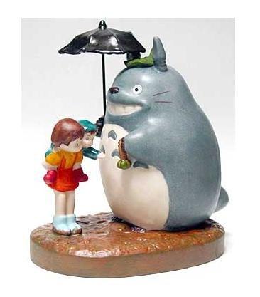 Music Box - Porcelain - omiyage - Totoro & Mei & Satsuki - Ghibli - sekiguchi (new)