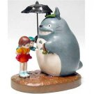 Music Box Orgel - Porcelain - Totoro & Mei & Satski - Ghibli - Sekiguchi - no production (new)