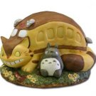 1 left - Music Box Orgel - Porcelain - Totoro & Nekobus - Ghibli - Sekiguchi - no production (new)