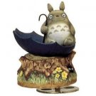 Music Box - Rotary - Porcelain - kasa - Totoro & Kurosuke - Ghibli - sekiguchi (new)
