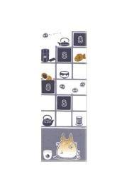 Ghibli - Totoro & Kurosuke - Hand Towel - 33x90cm - Japanese Dyed - stairway cabinet - SOLD(new)