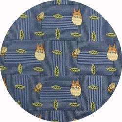 Ghibli - Totoro - Necktie - Silk - Jacquard Weaving - acron - blue - 2006 - RARE - 1 left (new)