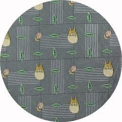 Ghibli - Totoro - Necktie - Silk - Jacquard Weaving - acorn - gray - 2006 - RARE - 1 left (new)