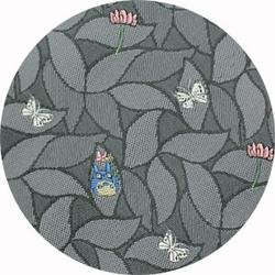 Ghibli - Totoro - Necktie - Silk - Jacquard Weaving - butterfly - gray - 2006 - SOLD OUT (new)