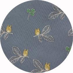 Ghibli - Totoro - Necktie - Silk - Jacquard Weaving - clover - gray - 2006 (new)