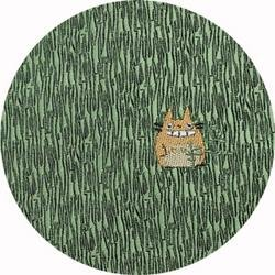 Ghibli - Totoro - Necktie - Silk - Jaquard Weaving - one point - green - RARE - SOLD OUT (new)