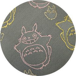 Ghibli - Totoro & Sho Totoro - Necktie - Silk - Jacquard - smile - gray - 2006 - RARE - 1 left (new)