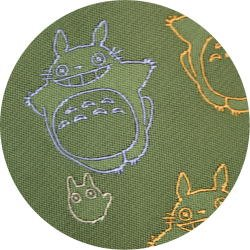 Ghibli - Totoro & Sho Totoro - Necktie - Silk - Jacquard Weaving - flying -green-2006-SOLD OUT(new)