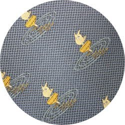 Ghibli - Sho Totoro - Necktie - Silk - Jacquard Weaving - top - blue - 2006 - 1 left (new)