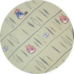 Ghibli - Totoro & Makkuro Kurosuke - Necktie - Silk - sanpo - yellow - 2006 - SOLD OUT (new)