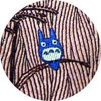 Ghibli - Totoro - Necktie - Silk - Jacquard Weaving - pampas grass - wine - SOLD OUT (new)