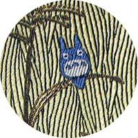 Ghibli - Totoro - Necktie - Silk - Jacquard Weaving - pampas grass - yellow - SOLD OUT (new)