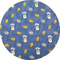 Ghibli - Sho Totoro & Kurosuke - Necktie - Silk - Jacquard Weaving - acorn - blue - SOLD OUT (new)