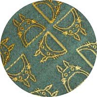 Ghibli - Totoro - Necktie - Silk - Jacquard Weaving - gradation - green - SOLD OUT (new)