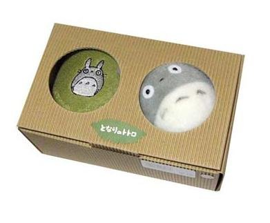 Ghibli - Totoro Embroidered - Towel Set - Totoro Mini Towel & Plush Doll - 2006 (new)