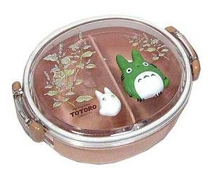 Ghibli - Chu Totoro & Sho Totoro - Lunch Bento Box - Relief -round-2006- outproduction-SOLD OUT(new)