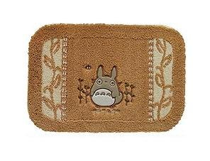 Ghibli - Totoro - Rug Mat - 45x65cm - Totoro Applique - Makkuro Embroidered - orange (new)