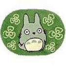 Rug Mat - 45x65cm - green - Totoro - Ghibli (new)