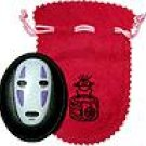 2 left - Mirror & Pouch Set - Kaonashi - Spirited Away - out of production ( new)