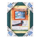 Wooden Frame for 108 & 208 pieces Jigsaw Puzzle - green - Totoro & Kurosuke Relief - Ghibli (new)