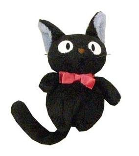 Plush Doll - Beanbag - H12cm - Jiji - Kiki's Delivery Service - Sun Arrow - no production (new)