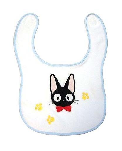Baby Bib- Jiji & Footprint - Kiki's Delivery Service - Ghibli (new)