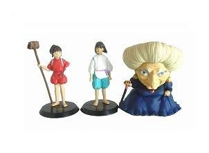 1 left- 3 Figure Set- cominica -Image Model- Sen & Haku & Yubaba - Spirited Away -no production(new)