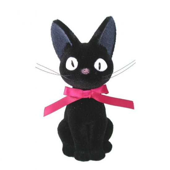 Doll Collection - Flocking Process - Jiji - Kiki's Delivery Service - Ghibli (new)