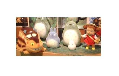 10% OFF - 5 Dolls - Flocking Process - Totoro & Chu & Sho & Nekobus & Mei - Ghibli - Sekiguchi (new)
