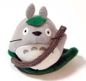 3 left - Mascot with Magnet - Totoro & Leaf Boat - Ghibli - out of production (new)