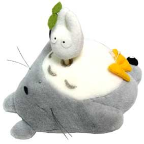 Ghibli - Totoro & ShoTotoro & Kurosuke - Music Box/Orgel - Plush Doll - ShoTotoro Turns Around (new)