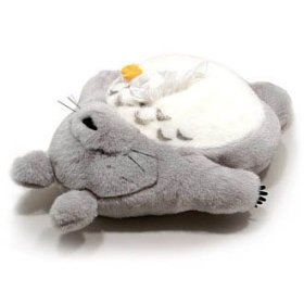 Tissue Box Cover Case - W56cm - Plush Doll - Totoro sleeping & Butterfly - Ghibli - Sun Arrow (new)