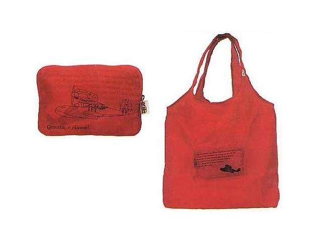 Ghibli - Porco Rosso - Eco Folding Shoulder Bag - 2006 (new)