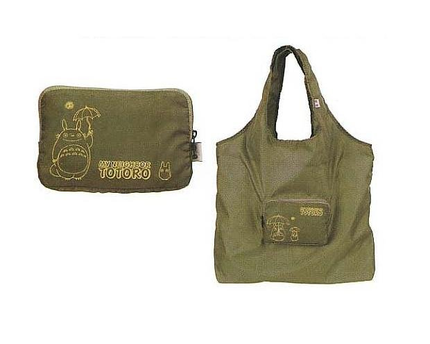 Ghibli - Totoro - Eco Folding Shoulder Bag - 2006 - out of production - RARE - 1 left (new)