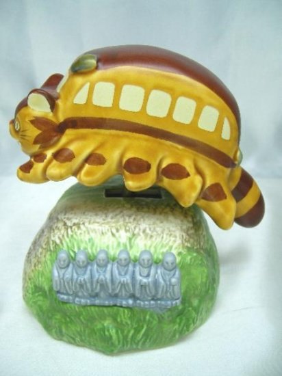 Ghibli - Totoro - Nekobus - Music Box - Swing - Porcelain - Very Rare - SOLD OUT (new)