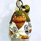 5 left - Strap Holder - Netsuke Bell - Onama sama - Spirited Away - Ghibli - no production (new)