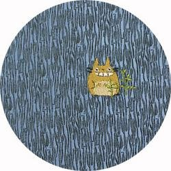 Ghibli - Totoro - Necktie - Silk - Jaquard Weaving - one point - blue - SOLD OUT (new)