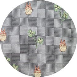 Ghibli - Totoro - Necktie - Silk - Jacquard Weaving - clover - gray - 2007 - 2 left (new)