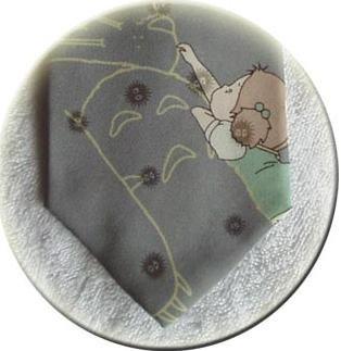 Ghibli - Totoro & Mei & Kurosuke - Necktie - Silk -  gray - 2007- RARE - SOLD OUT (new)