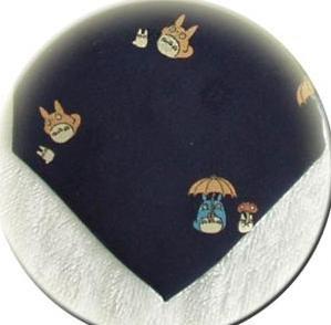 Ghibli - Totoro & Chu & Sho & Kurosuke - Necktie - Silk - Jacquard -navy -2007-RARE- 1 left (new)