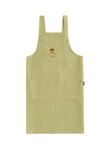 Ghibli - Totoro & Sho Totoro & Kurosuke & Frog - Embroidered - Apron - beige - SOLD OUT (new)