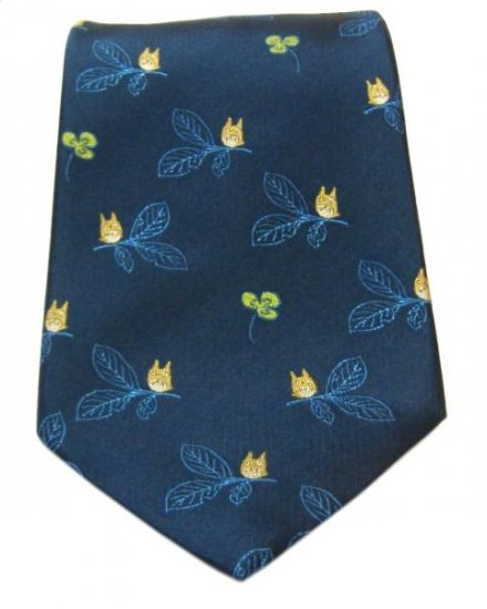 Ghibli - Totoro - Necktie - Silk - Jacquard Weaving - 32%OFF - VERY RARE -only 1 left (new)