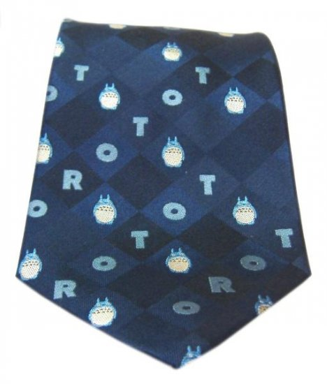 Ghibli - Totoro - Necktie - Silk - Jacquard Weaving - 41% OFF - VERY RARE - SOLD (new)